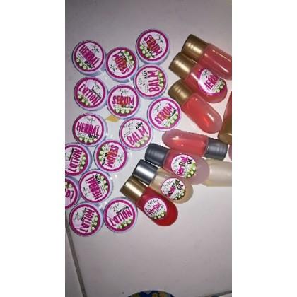 Najlaa Baby Skincare Travel Kit / Trial Set