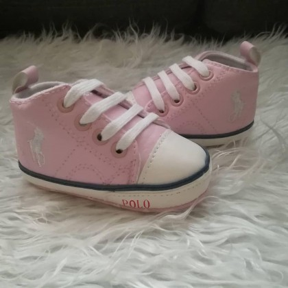 POLO PRE WALKER SHOES (PINK)